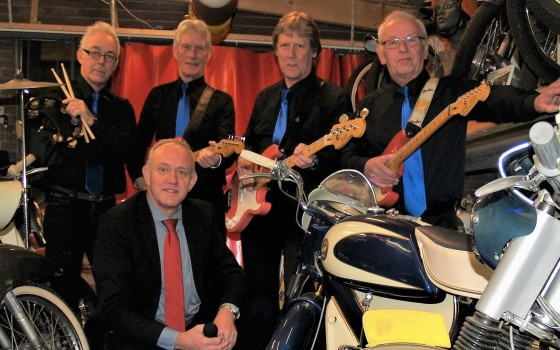 The Blue Bandits in Enkhuizen