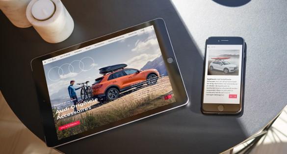 Audi; accessoire magazine