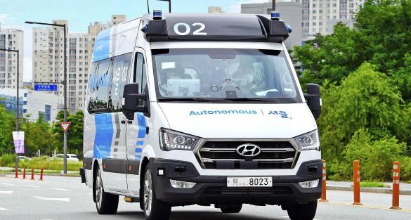 Hyundai; praktijkproef RoboShuttle